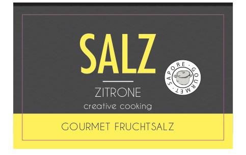 Öko Steinsalz Zitrone